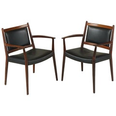Pair of Armchairs by Stefan Syrach Larsen