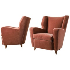 Pair of Armchairs by Tempestini Maurizo