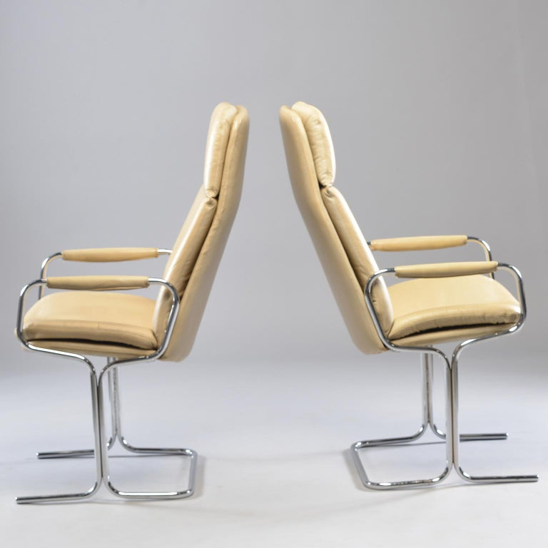 English Pair of Armchairs by Tim Bates for Eleganza Collection at Pieff For Sale