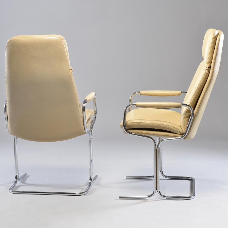 20th Century Pair of Armchairs by Tim Bates for Eleganza Collection at Pieff For Sale