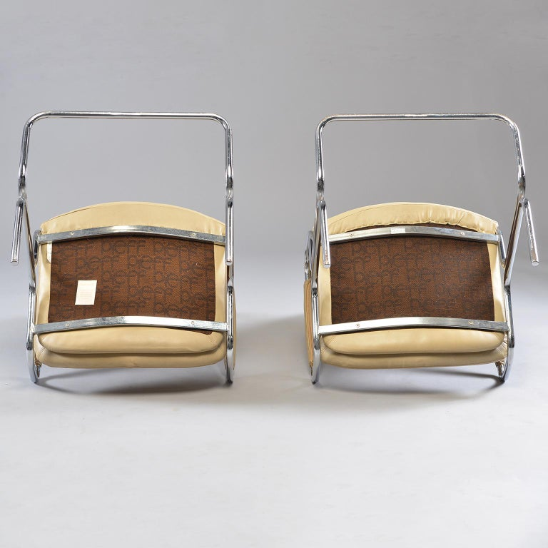 Pair of Armchairs by Tim Bates for Eleganza Collection at Pieff For Sale 1