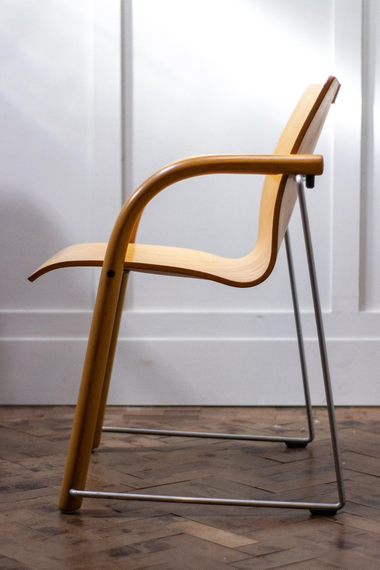 European Pair of Armchairs by Ulrich Bohme/ Wulf Schneider for Thonet