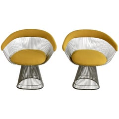 Pair of Armchairs by Warren Platner, Knoll International