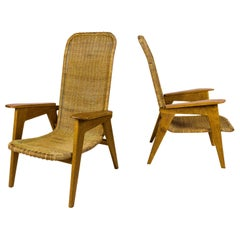 Pair of Armchairs, circa 1950, France