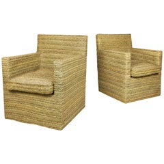 Pair of Armchairs, circa 2000, France