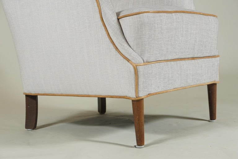 Pair of Armchairs Danish Cabinetmaker For Sale 2