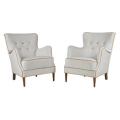 Pair of Armchairs Danish Cabinetmaker