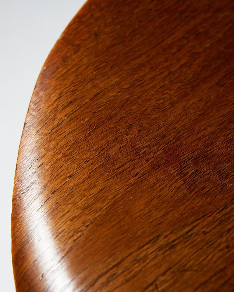 Pair of Armchairs Designed by Arne Jacobsen for Fritz Hansen, Denmark. 1950's.  For Sale 6