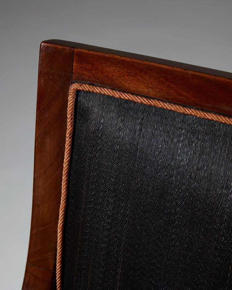 Pair of Armchairs Designed by Frits Henningsen for Frits Henningsen, Denmark, 19 3