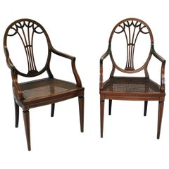 Pair of Armchairs, England, 1880s