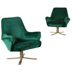 Pair of Armchairs for Formanova Vintage, Italy, 1960s-1970s