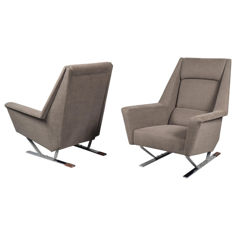 Pair of Armchairs, France, 1970s For Sale