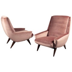 Pair of Armchairs, France, 1970s