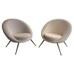Pair of Armchairs from 1960