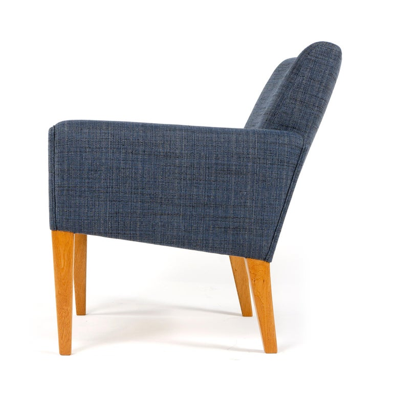 1950s Danish Pair of Armchairs Hans Wegner for A.P. Stolen In Excellent Condition For Sale In Sagaponack, NY