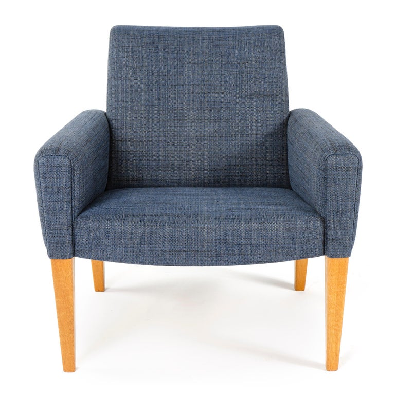 Mid-20th Century 1950s Danish Pair of Armchairs Hans Wegner for A.P. Stolen For Sale
