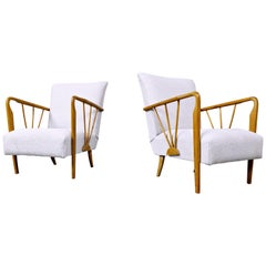 Pair of Armchairs in Style of Paolo Buffa