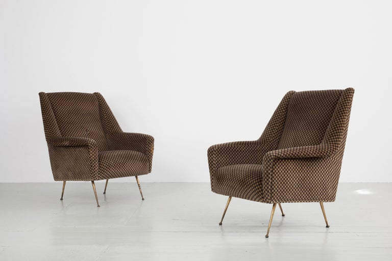 Pair of Armchairs, Italy, 1960s For Sale 3