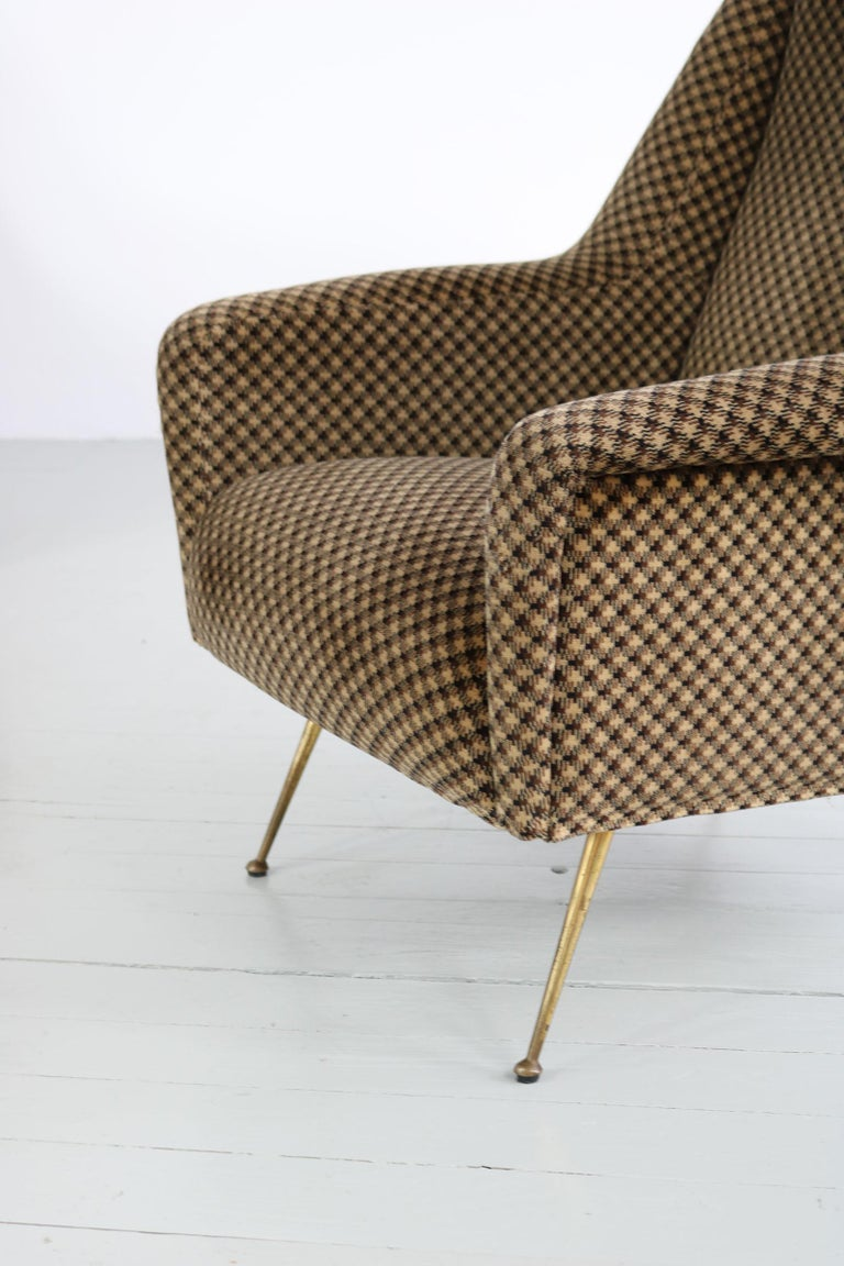 Pair of Armchairs, Italy, 1960s For Sale 4
