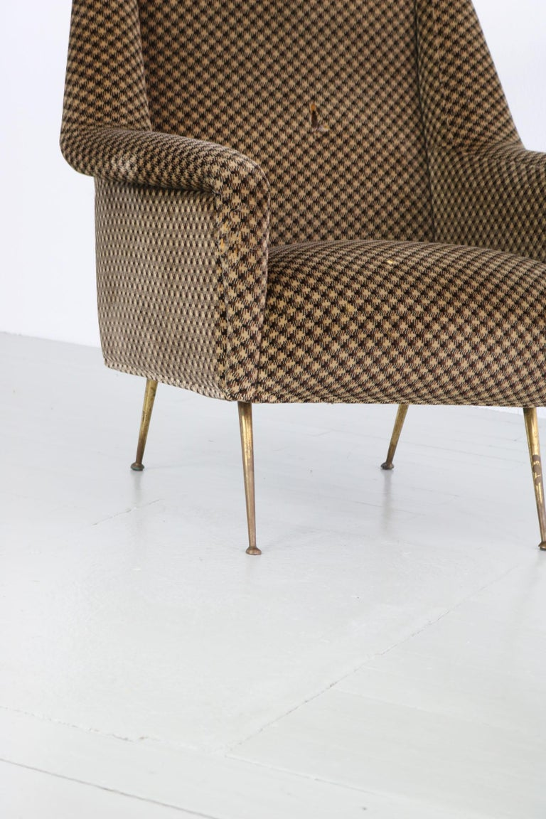 Pair of Armchairs, Italy, 1960s For Sale 6