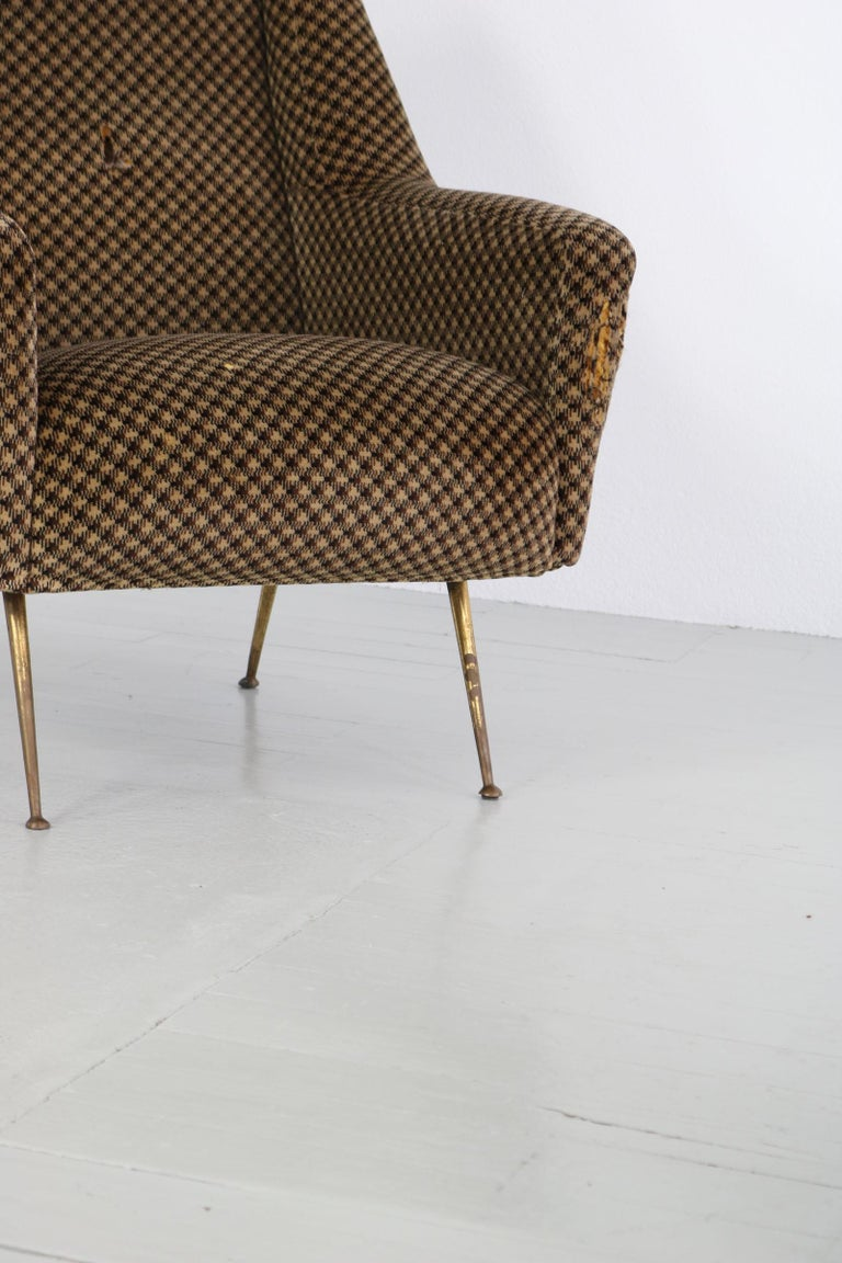 Pair of Armchairs, Italy, 1960s For Sale 7