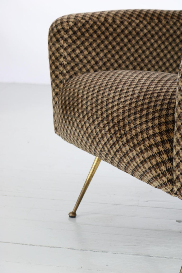 Pair of Armchairs, Italy, 1960s For Sale 8