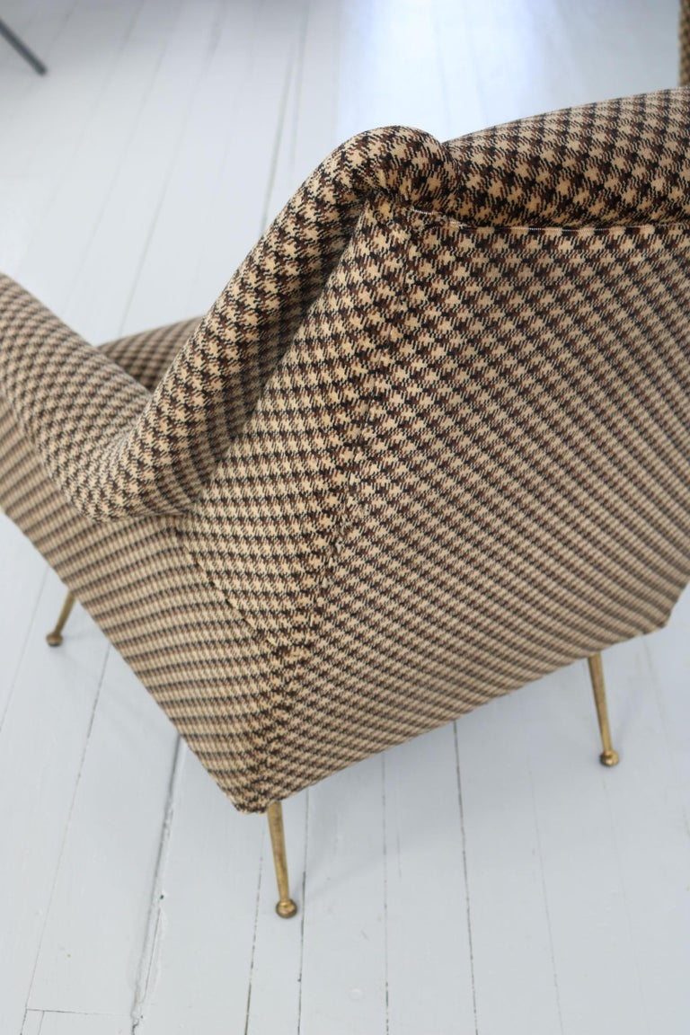 Pair of Armchairs, Italy, 1960s For Sale 10