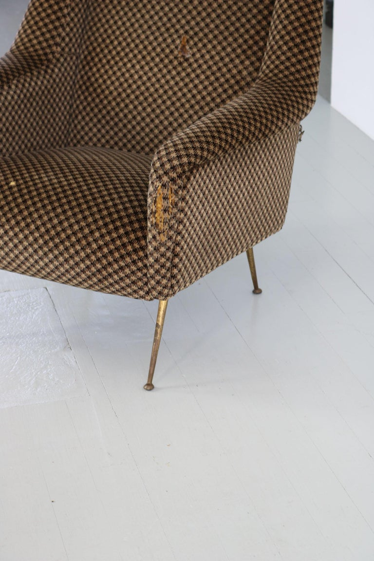 Pair of Armchairs, Italy, 1960s For Sale 11