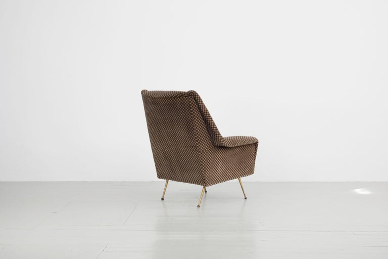 Italian Pair of Armchairs, Italy, 1960s For Sale