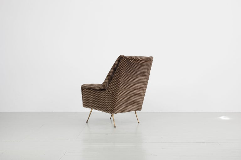 Mid-20th Century Pair of Armchairs, Italy, 1960s For Sale