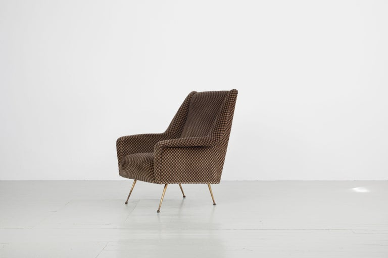 Pair of Armchairs, Italy, 1960s For Sale 1