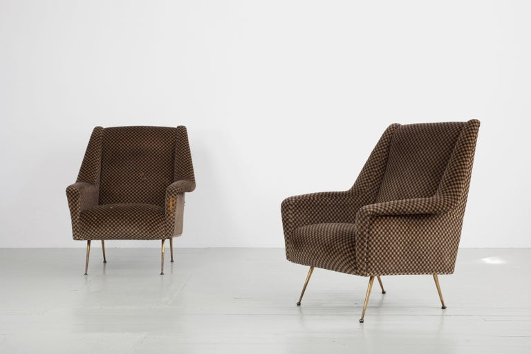 Pair of Armchairs, Italy, 1960s For Sale 2