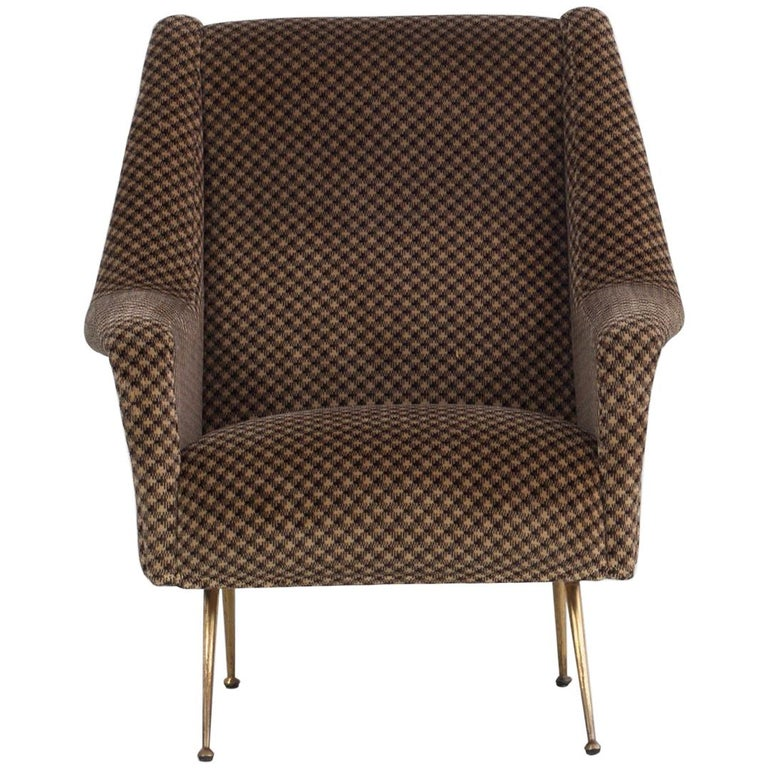 Pair of Armchairs, Italy, 1960s For Sale