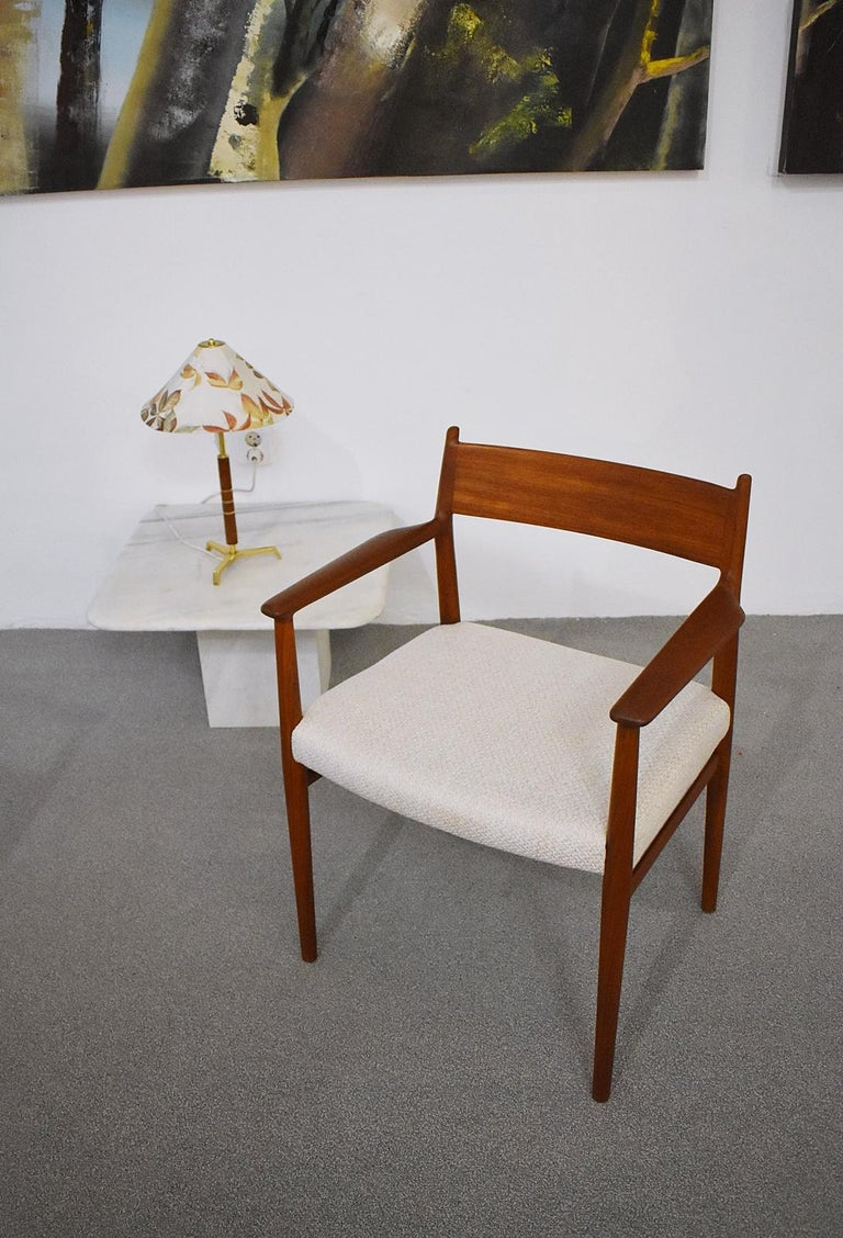 20th Century Pair of Armchairs Model 418 by Arne Vodder for Sibast, Denmark, 1960 For Sale