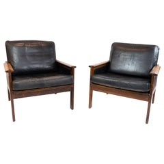 Pair of Armchairs, Model Capella, Designed by Illum Wikkelsø, 1960s