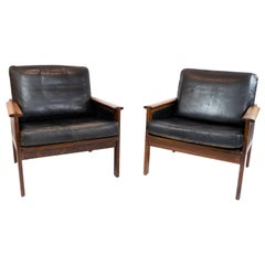 Pair of Armchairs, Model Capella, Designed by Illum Wikkelsø, 1960s