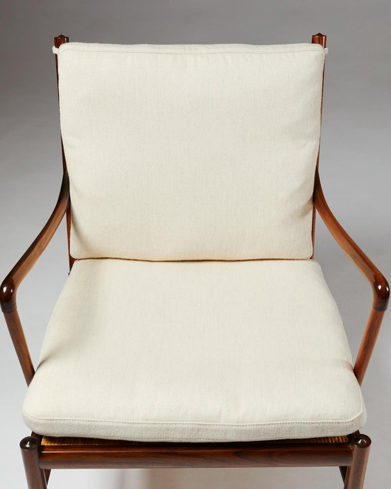 """Pair of Armchairs, PJ 149, """"Colonial"""", Designed by Ole Wanscher for P. Jeppesen For Sale 2"""