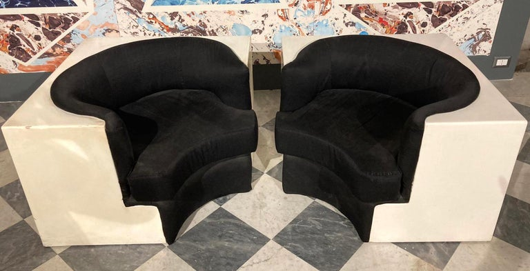 Italian Pair of Armchairs