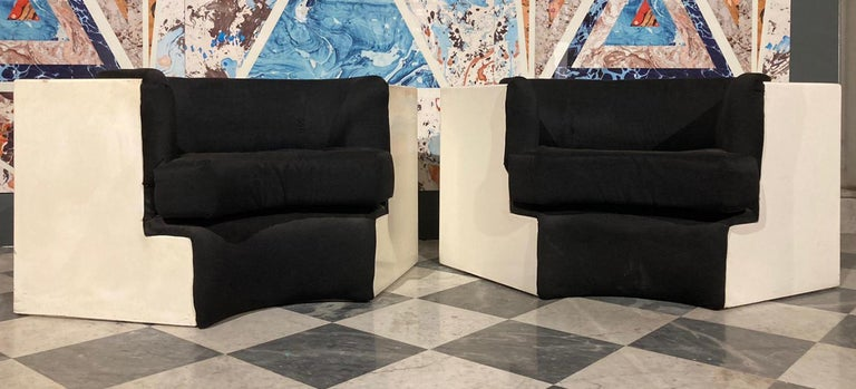 Mid-20th Century Pair of Armchairs