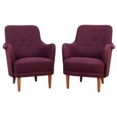 "Pair of Armchairs ""Samsas"" Designed by Carl Malmsten"