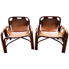 Pair of Armchairs, Tito Agnoli