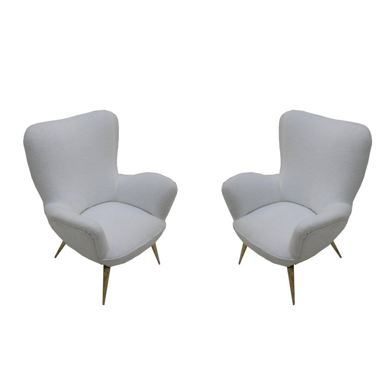 Pair of Armchairs, Italy, 1950