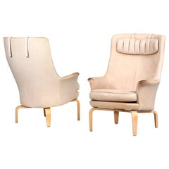 "Pair of Arne Norell Armchairs Model ""Pilot"", Sweden, 1970s"