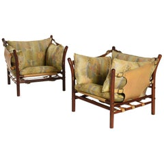 Pair of Arne Norell Ilona Chairs, Sweden, 1970s