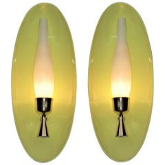 Pair of Arredoluce Monza Sconces