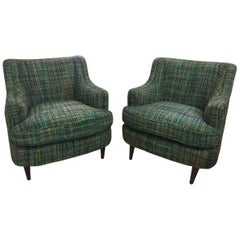 "Pair of ""Art Deco"" Armchair Attributed to Joaquim Tenreiro"