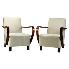 Pair of Art Deco Armchair, circa 1930