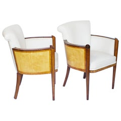 Pair of Art Deco Armchairs by Maurice Adams, circa 1935