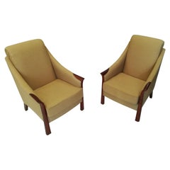 Pair of Art Deco Armchairs in the style of Pierre Chareau, circa 1930