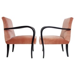 Pair of Art Deco Armchairs Italy